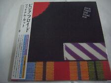 PINK FLOYD-The Final Cut JAPAN Mini LP CD w/OBI Roger Waters David Gilmour