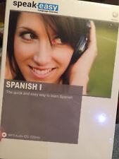 SPEAK EASY SPANISH 1---MP3 AUDIO CD (720 MINUTES)---LEARN SPANISH THE EASY WAY