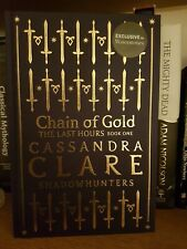 Waterstones Exclusive Edition Cassandra Clare Chain of Gold