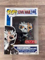 Funko Pop! Marvel #140 Crossbones Battle Damage Target Exclusive K015