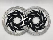 PAIR of SRAM Centerline XR Disc Brake Rotors 160mm 6-Bolt PERFECT for eTap AXS