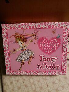 Fancy Nancy Stationery Set Fancy Is Better I'm A Tres Tres Fancy Girl