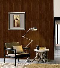 Realistic Wood Paneling Timber Plank Brown Oak 3D Textured Wallpaper KZ0306