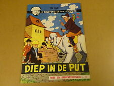 STRIP ONGEKLEURD / JOMMEKE N° 17 - DIEP IN DE PUT