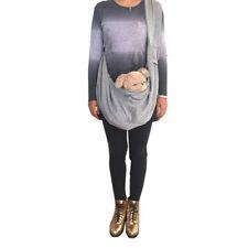 Gray Adjustable Dog Carrier Bag Dog Cat Shoulder Sling Bag Tote Travel Handbag