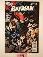Batman #700 Vol 1 Mike Mignola Red Hood Variant Rare 1:25 Grant Morrison DC 2010