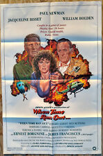 When Time Ran Out Original 1 Sheet Movie Poster