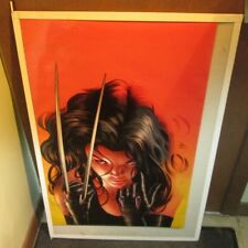 X-23 X 23 POSTER COLLECTIBLE  MARVEL DC COMICS LIMITED PRODUCTION RUN