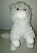 "White Persian Cat Plush Gund 13"" Tall"