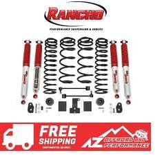 "Rancho 2"" Sport Lift Kit RS9000 Shocks For 18-20 Jeep Wrangler RUBICON JLU 4DR"