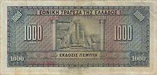 Billets d'Europe du Sud de Grèce
