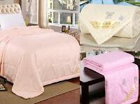 Mulberry Silk Filled Comforter Quilt Duvet Coverlet Blanket Doona Bedding