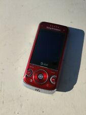 Red Sony Ericsson W760a Unlocked Gsm Cellular Cell Phone Fido Rogers Chatr At&T+