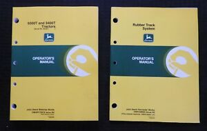 GENUINE JOHN DEERE 9300T 9400T TRACTOR OPERATORS MANUAL SERIAL #90,257 & UP MINT