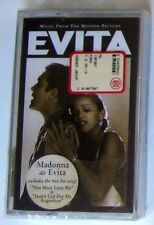 MADONNA - EVITA MOTION PICTURE - Musicassetta  Cassette Tape MC K7 - Sealed