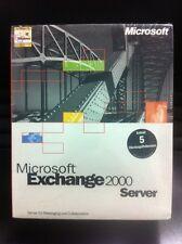 MS Exchange Server 2000 Standard incl. 5 CALS, il tedesco con IVA FATTURA