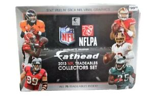 *SEALED* Fathead 2013 NFL PA 5 x 7 Vinyl Tradeables Collector's Set of 75