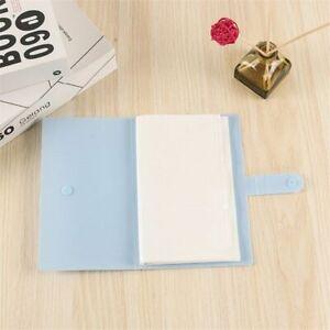 Women Book Card Case Wallet Men Business Cards Holder Large Photo Album Wallets