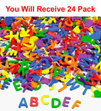"3000pc Foam Letter Stickers 1x1.25"" Alphabet ABC Multicolored Kids Art DIY"