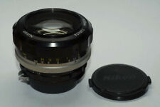 Objectif Nikon Nikkor-S Auto 55mm f/1.2