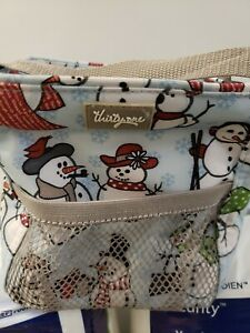 Thirty One 31 Littles Carry All Caddy Snow Daze Snowman, Holidays