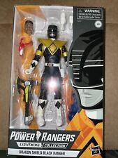 Power Rangers Lightning Collection Dragon Shield 6 Inch Black Ranger