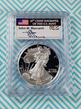 1997 P PCGS PR69DCAM 1oz Silver Eagle John Mercanti Signed # 28762191
