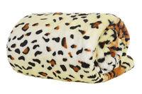 Tiger Double Deluxe Plush Fleece Blanket Soft Luxury Warm Home Sofa Bed Throw