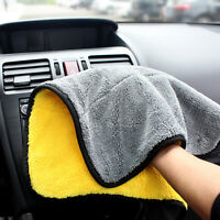 Soft Car Care Cleaning Detailing Towel Polish Wax Kitchen Wash Cloth 30*30cm