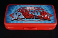 Tupperware Spiderman Sandwich Keeper Rectangle Hogie Sub Style Hinged New
