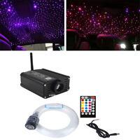 16W Car Headliner Star Lights Kit Roof Star Lights Fiber Optic Bluetooth Control