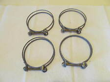 Ford GPW Jeep CJ2A CJ3A M38 Willys MB L134 F134 Radiator Hose Clamps Set Of Four