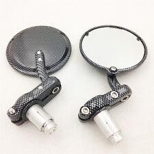 "Round Side 1"" Bar Ends Mirrors For Honda CB1000R CB1300 CB600F"