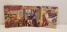 Mighty Midget Mini Comics Lot of 3 THE PHANTOM EAGLE Balbo MR SCARLET & Pinky 19