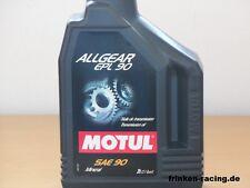 6,70€/l Motul Allgear EPL 90 SAE 90 2 Liter mineralisches Hypoid Getriebeöl