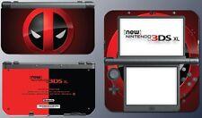 Super Hero Deadpool Wade Wilson Avengers  Game Decal Skin New Nintendo 3DS XL