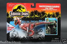 1994 Kenner Jurassic Park Pachycephalosaurus Ram Head Series 2 Capture Gear MOC