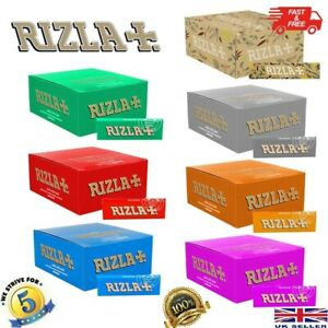 RIZLA PINK LIQUORICE Regular Original Rolling Paper Cigarette only £1.79