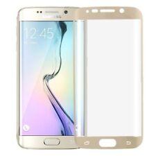 Markenlose 9H Hartglas Displayschutzfolien für das Samsung Galaxy S6 edge Gold