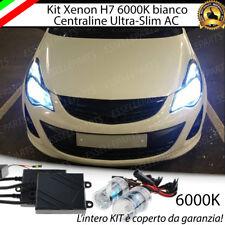 KIT XENON XENO H7 AC 6000 K 35W SPECIFICO PER OPEL CORSA D RESTYLING NO ERROR