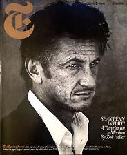 SEAN PENN T International Herald Tribune Magazine LIKE NEW