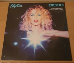 Kylie Minogue: Disco - Exclusive Limited Edition TURQUOISE Vinyl - New & Sealed