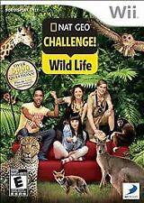 Nat Geo Challenge Wild Life (Nintendo Wii, 2010)    COMPLETE    FAST SHIPPING !!