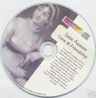 Jane Austen - Love & Friendship - audio book Mp3 CD