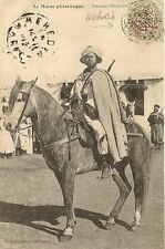 CARTE POSTALE AFRIQUE MAROC CAVALIER GOUMIER MAROCAIN