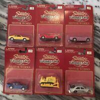 Vintage Unopened Lot Of 6 Maisto Die Cast Vehicles 1997-Original Blister Packs!