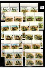 // 4X SOMALIA - MNH - WWF - NATURE - WILD ANIMALS - 1992 - WHOLESALE