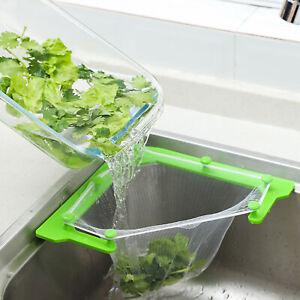 Triangular Corner Sink Filter Kitchen Drain Basket with 100Pcs Hanging Mesh Bags