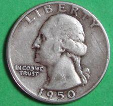 1950-P   US   Silver  Washington  Quarter   ...Circulated...