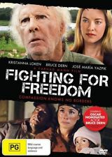 FIGHTING FOR FREEDOM, BRUCE DERN, ALL REGIONS, NEW AND SEALED, FREE POST